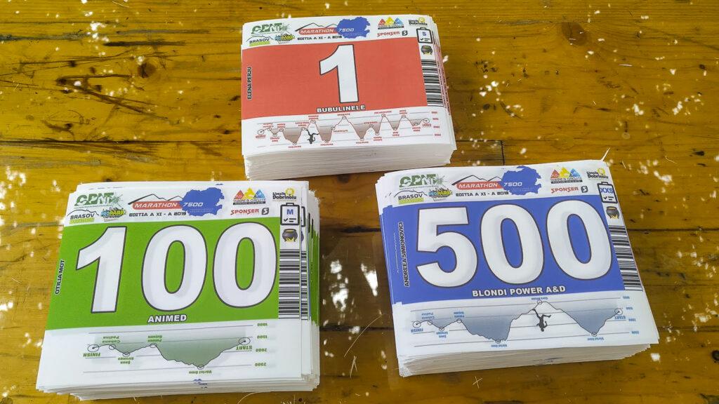 Numere de concurs Marathon 7500